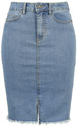 Be Lexi HW MB Denim Pencil Skirt