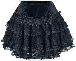 Minisukňa Gothic Lolita