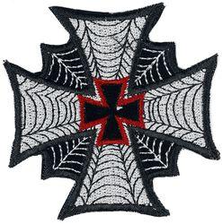 Nášivka so železným krížom a pavučinou