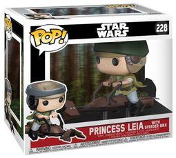 Vinylová figúrka č. 228 Princess Leia on a Speeder (s možnosťou chase)