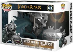 Vinylová figúrka č. 63 Witch King on Fellbeast (Pop Rides)