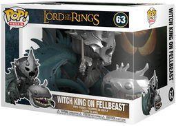 Vinylová figúrka č. 63 Witch King on Fellbeast (Pop Rides)
