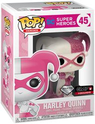 Vinylová figúrka č. 45 Harley Quinn (Glitter Pink)
