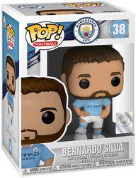 Football Vinylová figúrka č. 38 Manchester City - Bernardo Silva