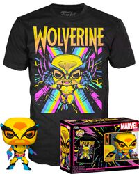 Black Light - Wolverine POP! & tričko