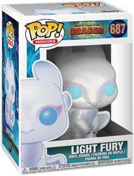 Vinylová figúrka č. 687 Light Fury 3