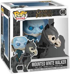 Vinylová figúrka č. 60 Mounted White Walker POP Rides