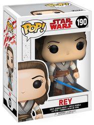 Vinylová figúrka s pohyblivou hlavou č. 190 Episode 8 - The Last Jedi - Rey
