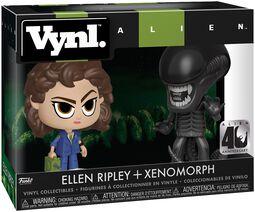 Vinylová figúrka Ellen Ripley + Xenomorph (VYNL)