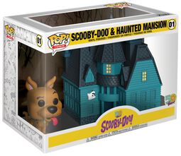 Scooby Doo Vinylová figúrka č. 01 Scooby Doo and Haunted Mansion (Pop! Town)
