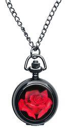 Vreckové hodinky Red Rose