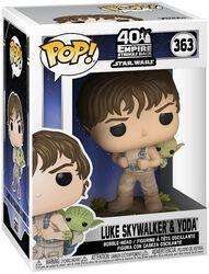 VInylová figúrka č. 363 Empire Strikes Back 40th Anniversary -  Luke Skywalker & Yoda