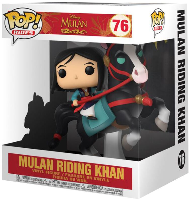 Mulan on Khan POP! Rides)