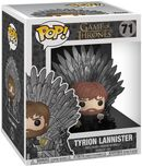 Vinylová figúrka č. 71 Tyrion Lannister Iron Throne (POP Deluxe)