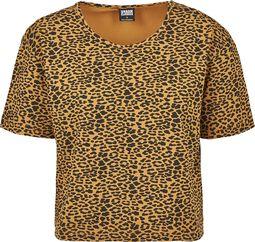 Dámske krátke oversized tričko Leo