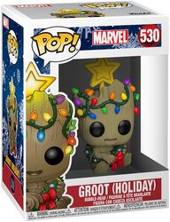 Vinylová figúrka č. 530 Groot (Holiday)