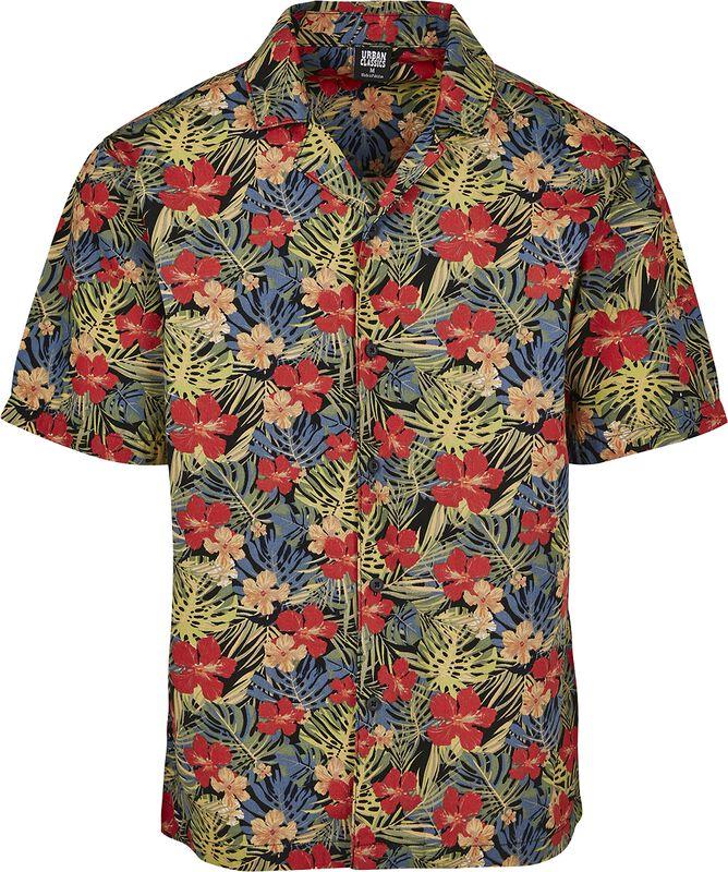 Vzorovaná košeľa na voľný čas Aloha