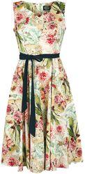 Swingové šaty Warm Flower