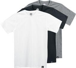 Balenie 3 ks tričiek v rôznych farbách