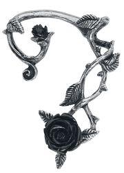 Záušnica Black Rose