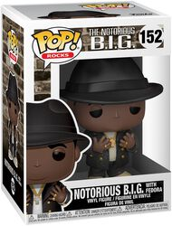 Notoroius B.I.G Rocks With Fedora Vinyl Figure