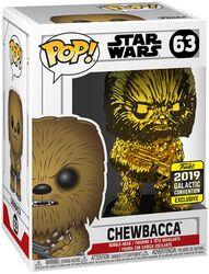 Vinylová figúrka č. 63 Star Wars Celebration 2019 - Chewbacca (Chrome)