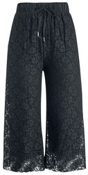Dámske čipkované Culotte nohavice