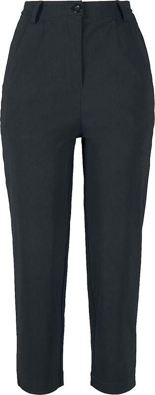 Dámske cropped nohavice s vysokým pásom