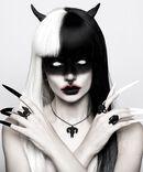 Prsteň Vampire Bat