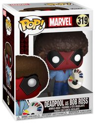 Vinylová figúrka č. 319 Deadpool as Bob Ross