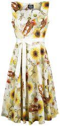 Sunflower Swing Dress