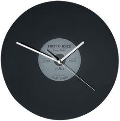Sklenené nástenné hodiny Vinyl