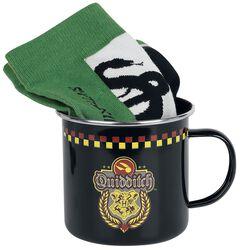 Hrnček s ponožkami Slytherin