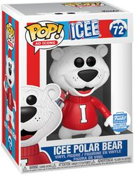 Vinylová figúrka č. 72 Ad Icons: Icee Polar Bear (Funko Shop Europe)