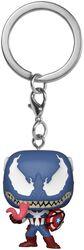 Venomized Captain America Pocket POP! Kľúčenka