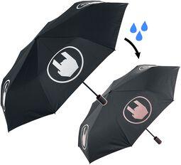 Dáždnik, ktorý mení farbu