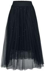 Sieťovinová sukňa Sofia s nitmi