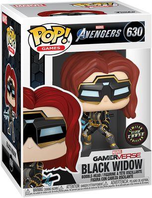 Vinylová figúrka č. 630 Black Widow (s možnosťou chase)