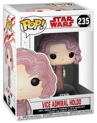 Vinylová figúrka s pohyblivou hlavou č. 235 Episode 8 - The Last Jedi - Vice Admiral Holdo