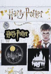 Nášivky s motívmi Harryho Pottera a Rockfortu