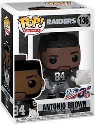 Vinylová figúrka č. 136 Raiders - Antonio Brown