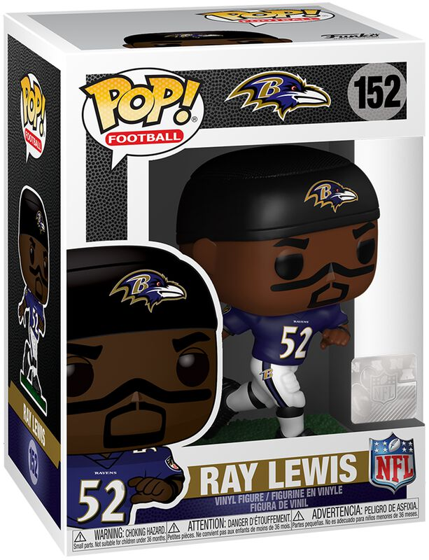Vinylová figúrka č. 152 Baltimore Ravens - Ray Lewis
