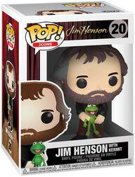 Vinylová figúrka č. 20 Jim Henson s Kermitom