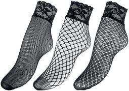 3-Pack of Mesh Socks