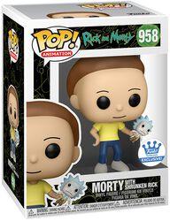Morty with Shrunken Rick (Funko Shop Europe) Vinyl Figure 958