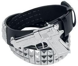 Belt with Pistol Buckle