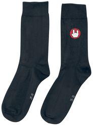 Čierne ponožky EMP s logom
