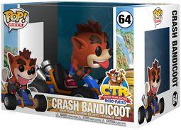 Vinylová figúrka č. 64 Crash Bandicoot POP Rides