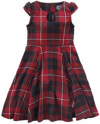 Detské šaty Red Tartan