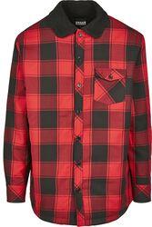 Košeľová bunda s kožušinovou podšívkou